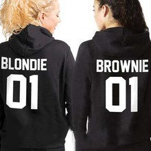Sugarbaby Sisters Hoodies sisters Sweatshirt Blondie and Bro