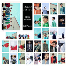 KPOP MONSTA X SHINE FOREVER Album LOMO Cards K-POP New Fashion Self Made Paper Photo Card HD Photocard(China)