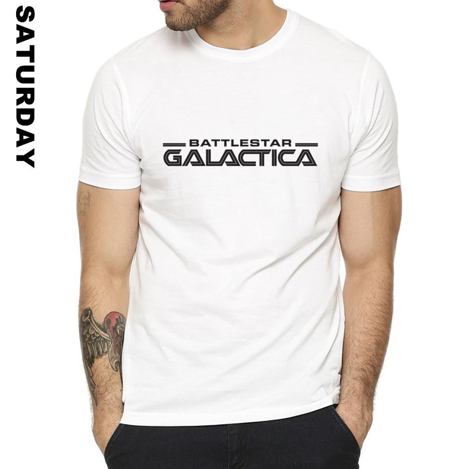 Battlestar Galactica Design T Shirt for Men and Women,O-Neck Short sleeves Summer Casual T-Shirt Men's T Shirt