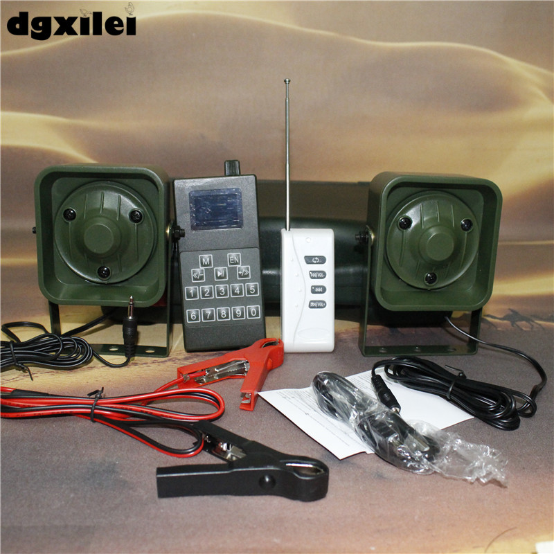 Xilei Outdoors Quail Hunting 50W 150Db Remote Control 998D Mp3 Players Hunter Bird Caller With Timer image