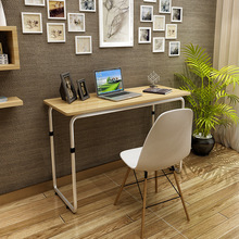 Computer Desks office home bed Furniture steel tube +panel laptop desk hot new 2017 good price functional 100*60 cm quality