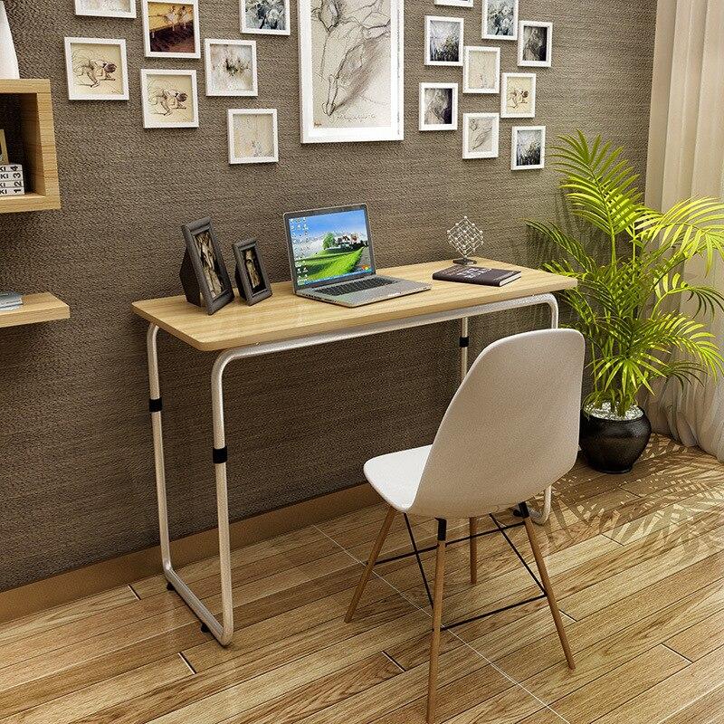 escritorios de la computadora de oficina en casa cama muebles de tubo de acero panel