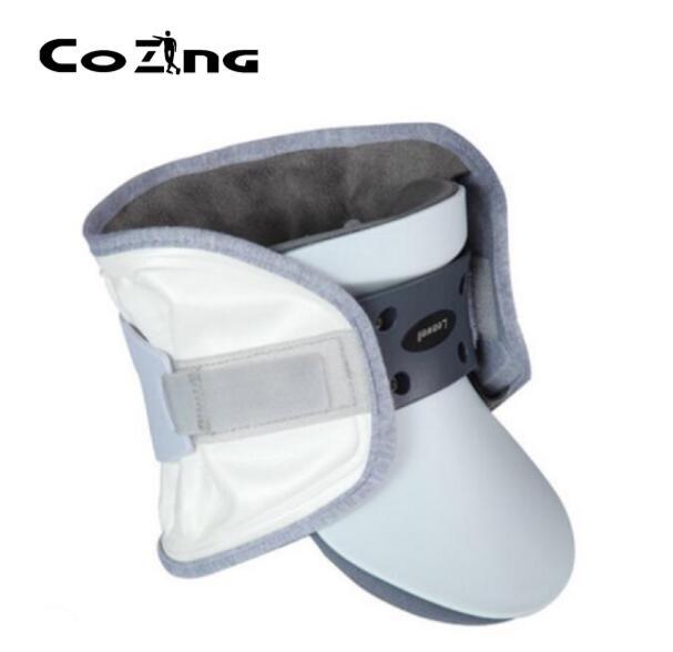 Usage domestique perspnal dispositif de soins de santé cervicale traction soins médicaux à domicile cou collier cervical