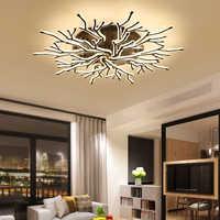 NEO Gleam Neue Ankunft Schwarz Finish Moderne Led-deckenleuchten Für Wohnzimmer Master Schlafzimmer Leuchten AC85-265V Decke Lampe