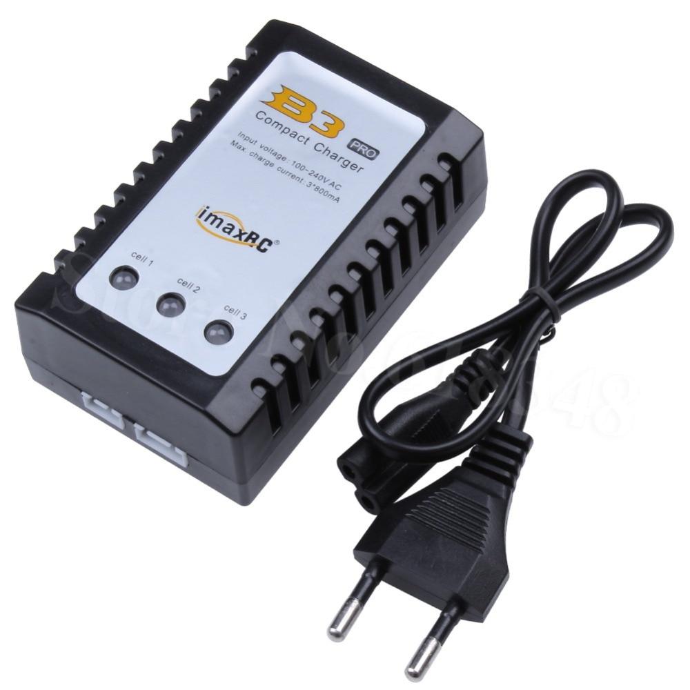 iMax B3 imaxRC Pro kompaktais lādētājs B3AC 2S 3S 7.4V / 11.1V Litija LiPo RC akumulatora atlikums Carregador Zippy TURNIGY iepakojumam