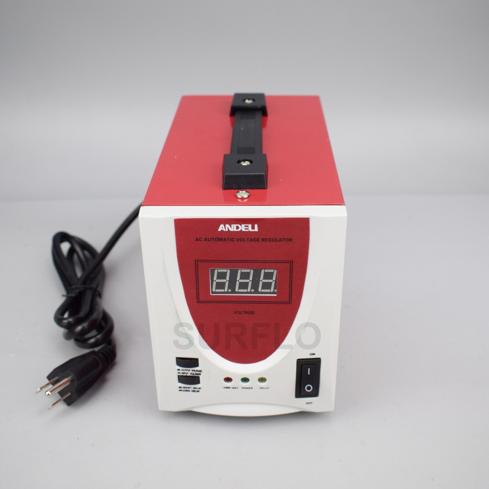 SVC D500VA Single phase Automatic Voltage Regulator 500W household ...