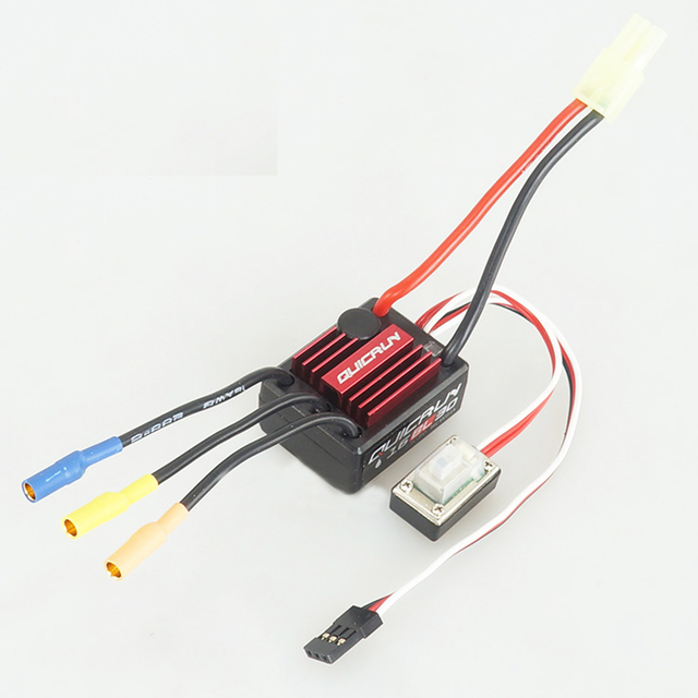 1pcs Hobbywing QuicRun-WP-16BL30 30A Sensorless Brushless Speed Controllers ESC for 1/16 1/18 RC Car