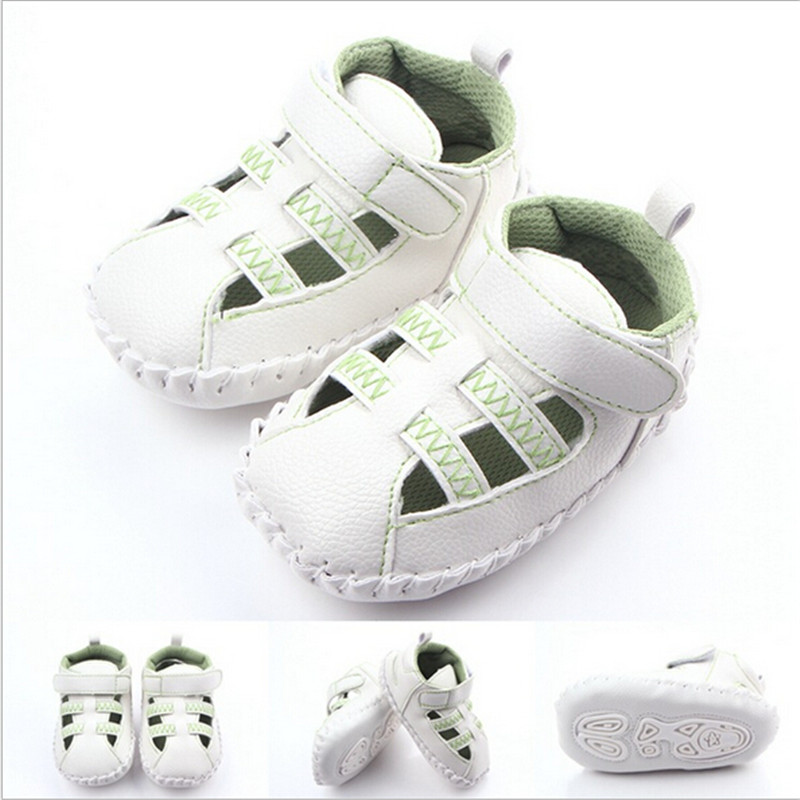 2016 New Summer Baby Shoes Toddler Antislip First Walkers Infants Boys Bebe Shoes Free shipping