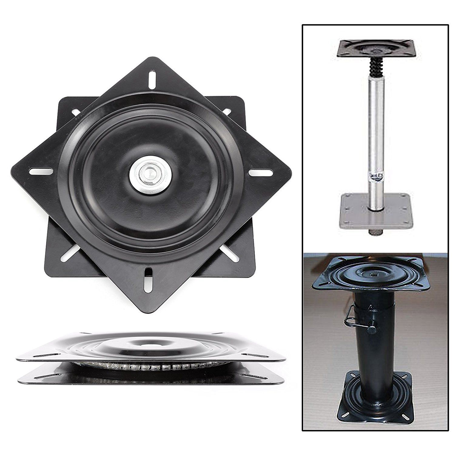 HOT 8 inch boat seat swivel plate fishing boat marine seat swivel rotation 360 degree universal rotation 20 x 20 x 2 cmHOT 8 inch boat seat swivel plate fishing boat marine seat swivel rotation 360 degree universal rotation 20 x 20 x 2 cm
