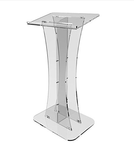 Wholesale Clear Fixture Displays Plexiglass Acrylic Podium Clear Lectern Church Pulpit