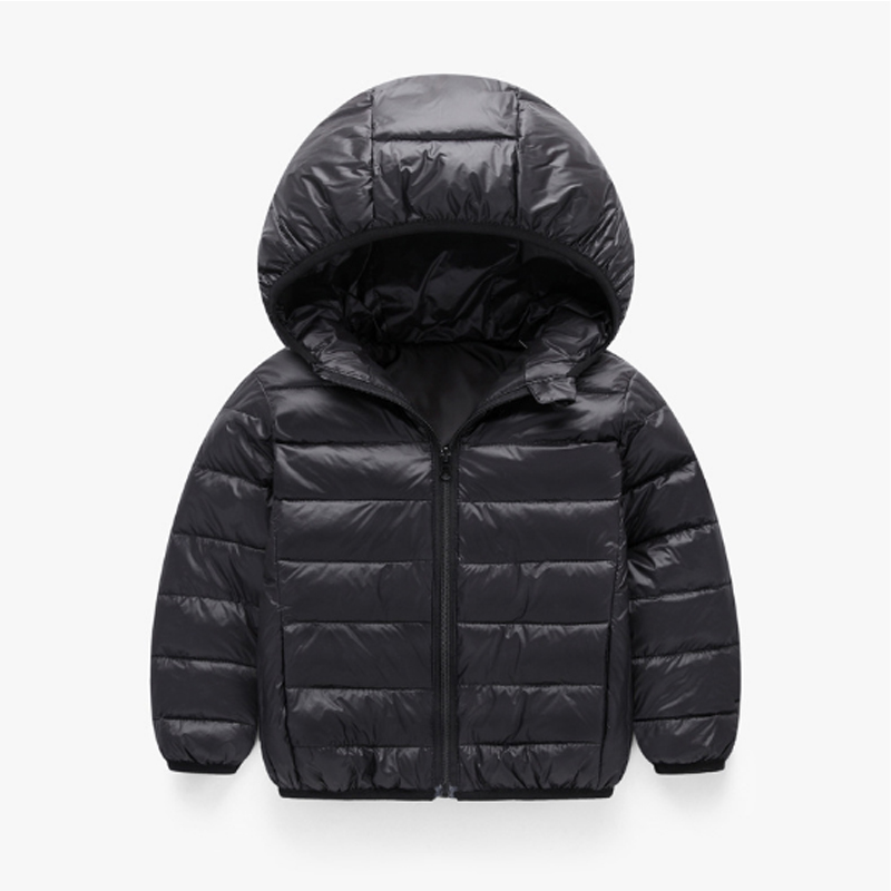 Children Outwear Coats Tops 2017 Fashion Winter Girls Clothing Down & Parkas Solid Cotton Hooded Zipper Kids Boys Jacket 3dp013 2016 winter thin down jacket fashion girls boys cotton hooded coat children s jacket outwear kids casual striped outwear 16a12