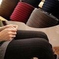 W742 Nueva Moda de Invierno/otoño/primavera Pantimedias para las mujeres y de la muchacha Medias Colores Cálidos 5 colores liberan el envío