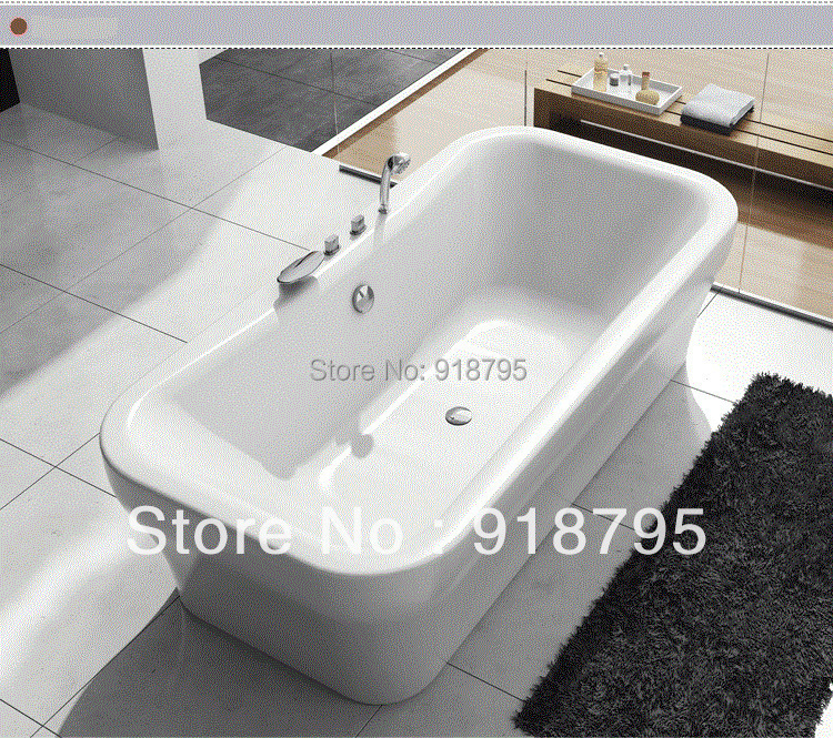 Online Buy Wholesale Freestanding Bathtub From China Freestanding - Rectangular freestanding soaking tub