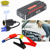 68800mAh Car Jump Starter Peak 600A Mini Portable Emergency Power Bank Battery Booster Charger For Phone