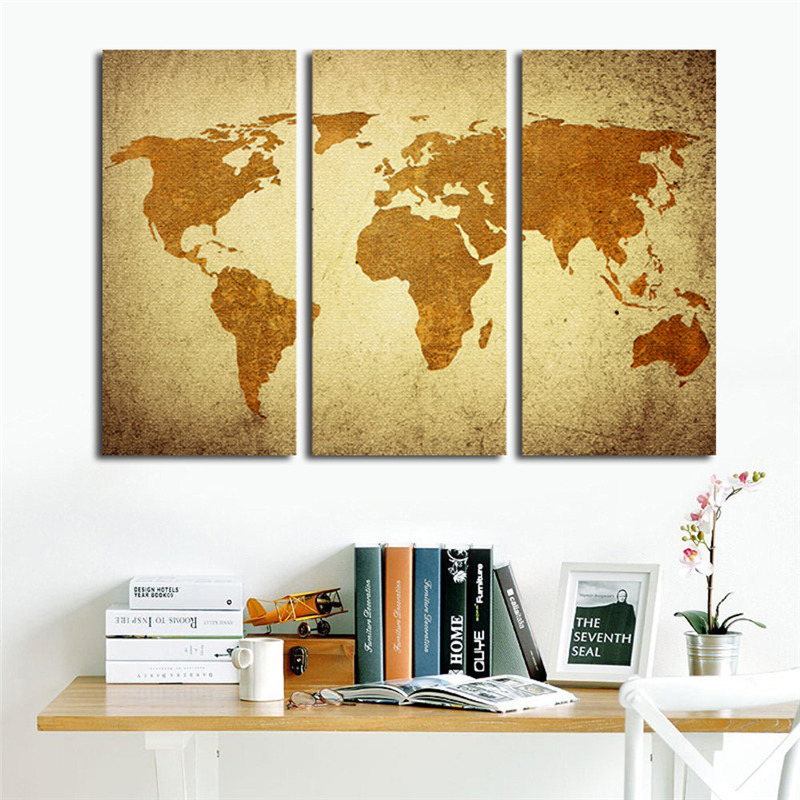 Awesome Wall Art Map Frieze - Art & Wall Decor - hecatalog.info