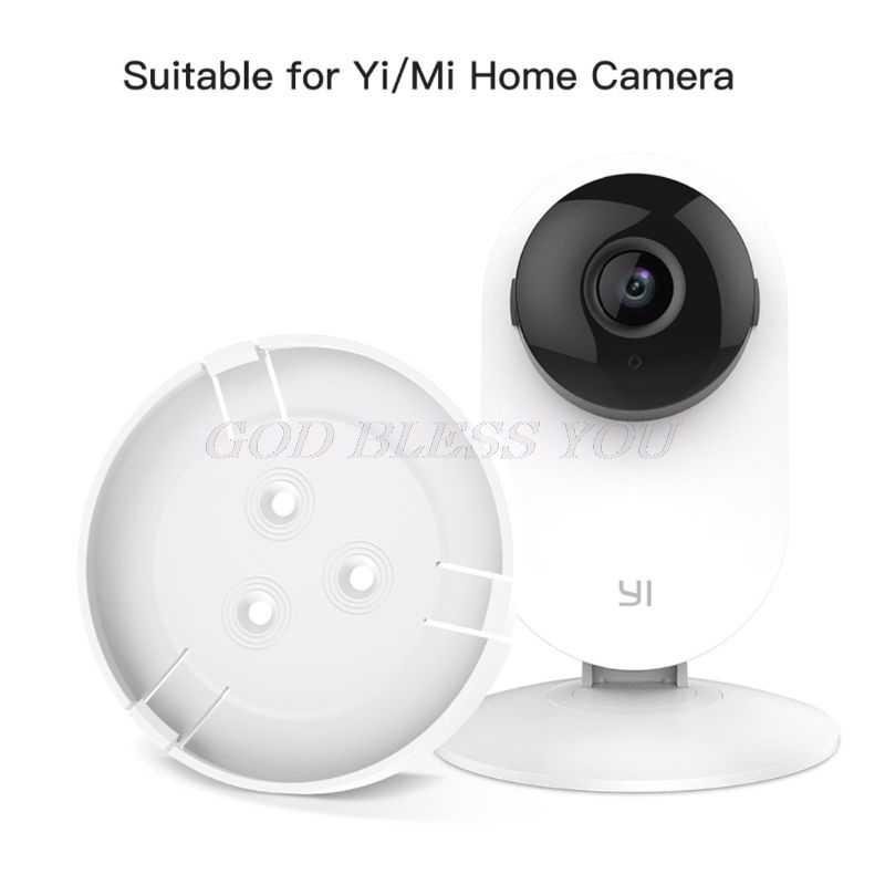 2Set 360 degrés pivotant en plastique caméra support mural support pour Mi/Yi Smart Home sécurité caméra accessoires