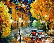 palette knife oil painting  modern oil painting canvas oil painting  K411