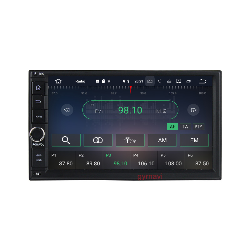 2 DIN Android 7.1 Auto Radio Audio Head Unit Quad Core 7 Inch Universal Car NO DVD Player GPS Stereo car pc table