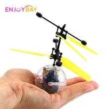 Enjoybay Mini Τηλεχειριστήριο Ελικόπτερο Παιχνίδι Χέρι αιωρούνται Αεροσκάφη Υπέρυθρη επαγωγή Πετώντας μπάλα Παιχνίδι Fantastic Δώρα για τα παιδιά
