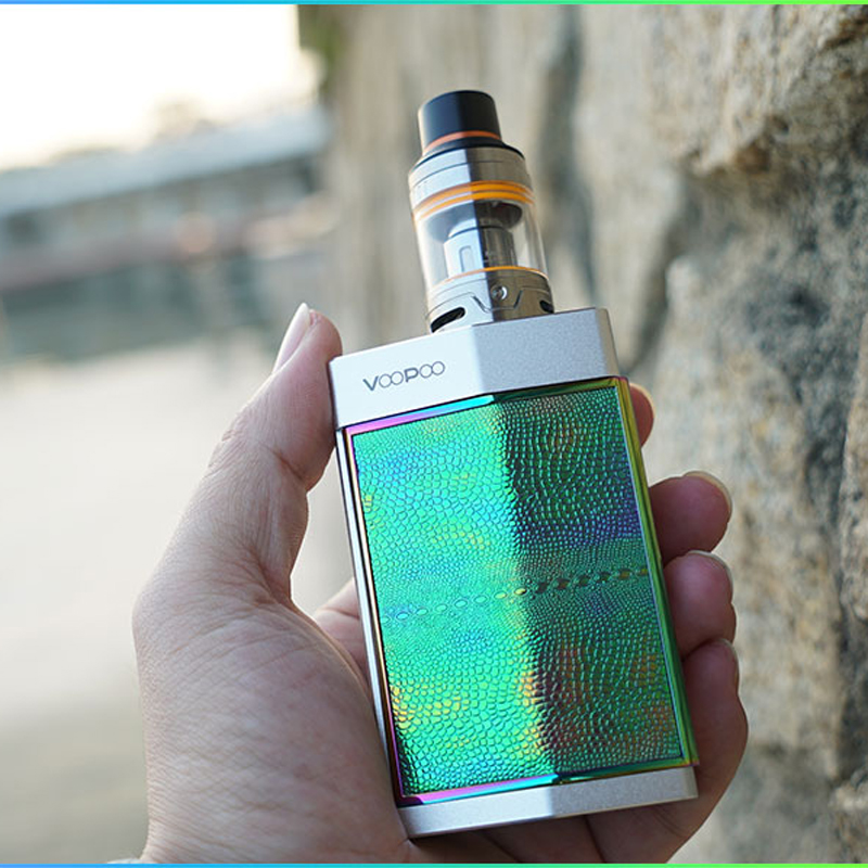 2018 New 100 Original VooPoo TOO 180W TC E Cigarette Starter Kit with Upgraded Gene Chip