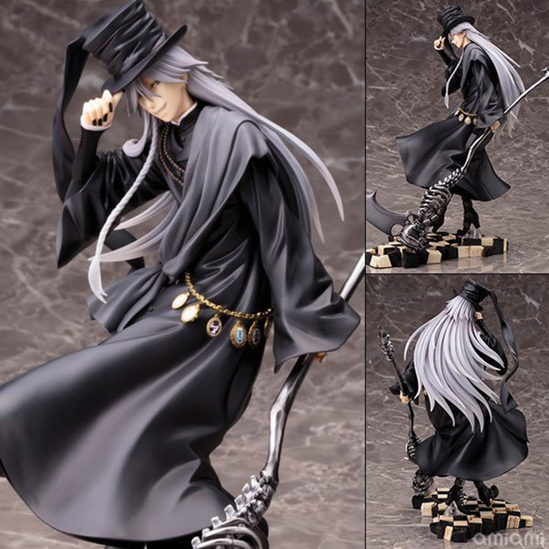 Anime Black Butler Book of Circus UnderTaker ArtFX J Statue PVC Action Figure Anime Figure Collectible Model ToyAnime Black Butler Book of Circus UnderTaker ArtFX J Statue PVC Action Figure Anime Figure Collectible Model Toy