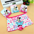 Lovely Boxer Girls Underwear Cotton Baby Kids Panties Cartoon Child Pants