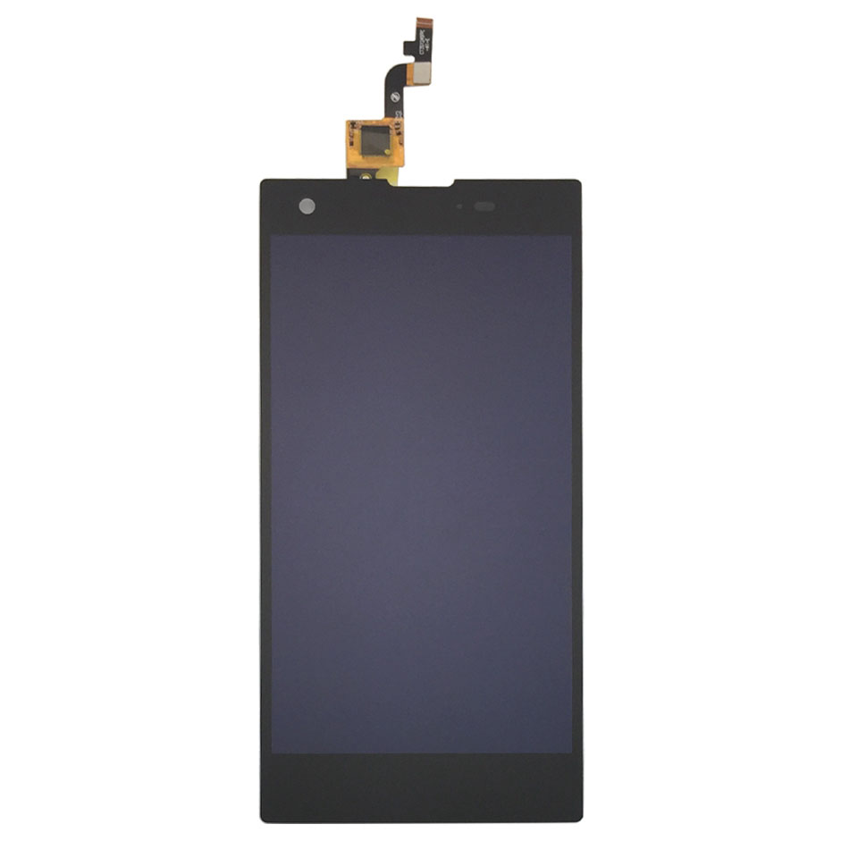 1PC/Lot High Quality sensor For Allview X2 Twin LCD Screen Display And Touch Screen Screen Replacement Part Black Color
