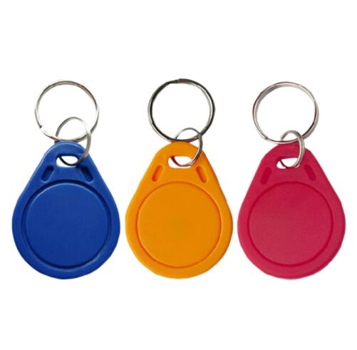 13.56MHz IC M1 S50 Keyfobs Tags Access Control RFID Key Card Attendance Management Keychain Waterproof,min:10pc free shipping by dhl rfid proximity ic card tags 13 56mhz 1k s50 access control time attendance car parking min 500pcs
