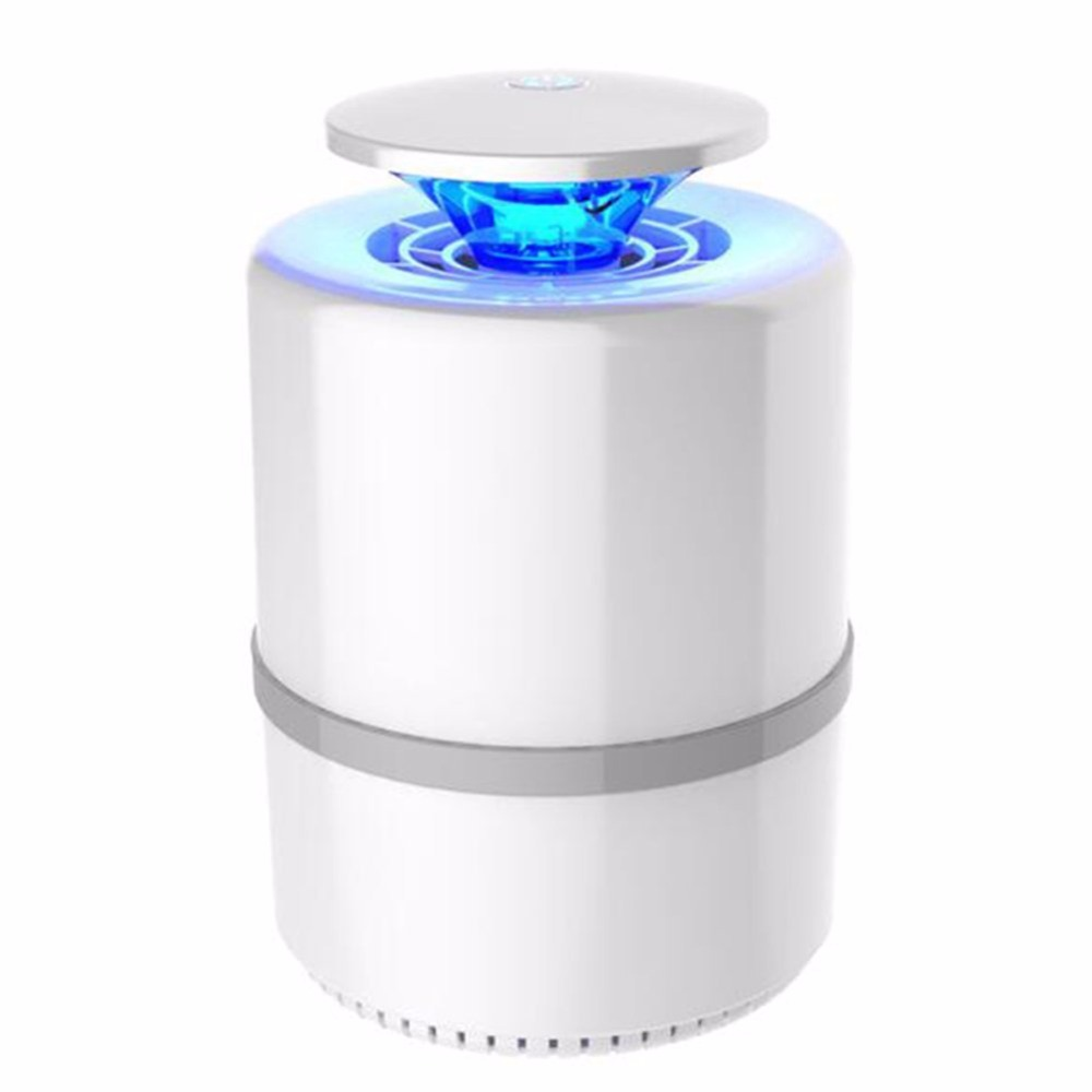 Radient Portable Attract Indoor Office Usb Powered Mute Effective Photocatalyst Bug Zapper Led Light Home Safe Mosquito Killer Lamp Mosquito Killer Lamps