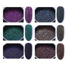 6 Boxes  Laser Nail Glitter Powder Gorgeous Chrome Nail Art Decorations Set For UV Gel Polish  Pigment