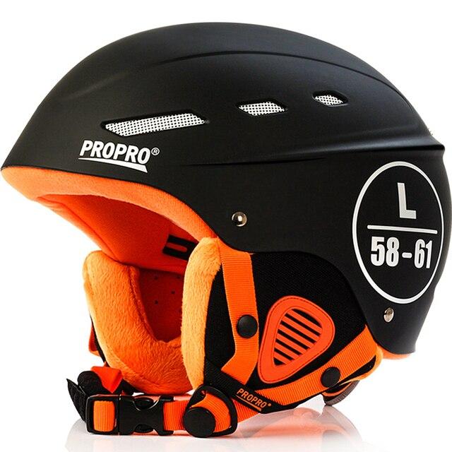 Marca Homem/Mulher/Crianças Velure Snowboard Ski Capacete Inverno Capacete Moto Bicicleta Skis/Trenó Esportes Rolo De Segurança -Máscara de patinação Skate