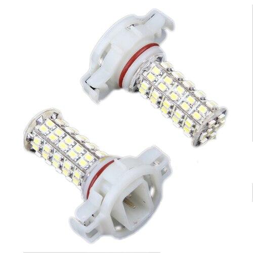 10x) 2 X H16 <font><b>5202</b></font> 5201 68 SMD <font><b>LED</b></font> White Fog Light Lamp Bulb