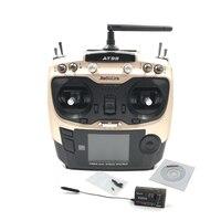 Radiolink AT9S 2.4G 9Ch Trasmettitore del Sistema con Ricevitore R9DS AT9 Radiocomando Aggiornamento Vision per Quadcopter Elicottero