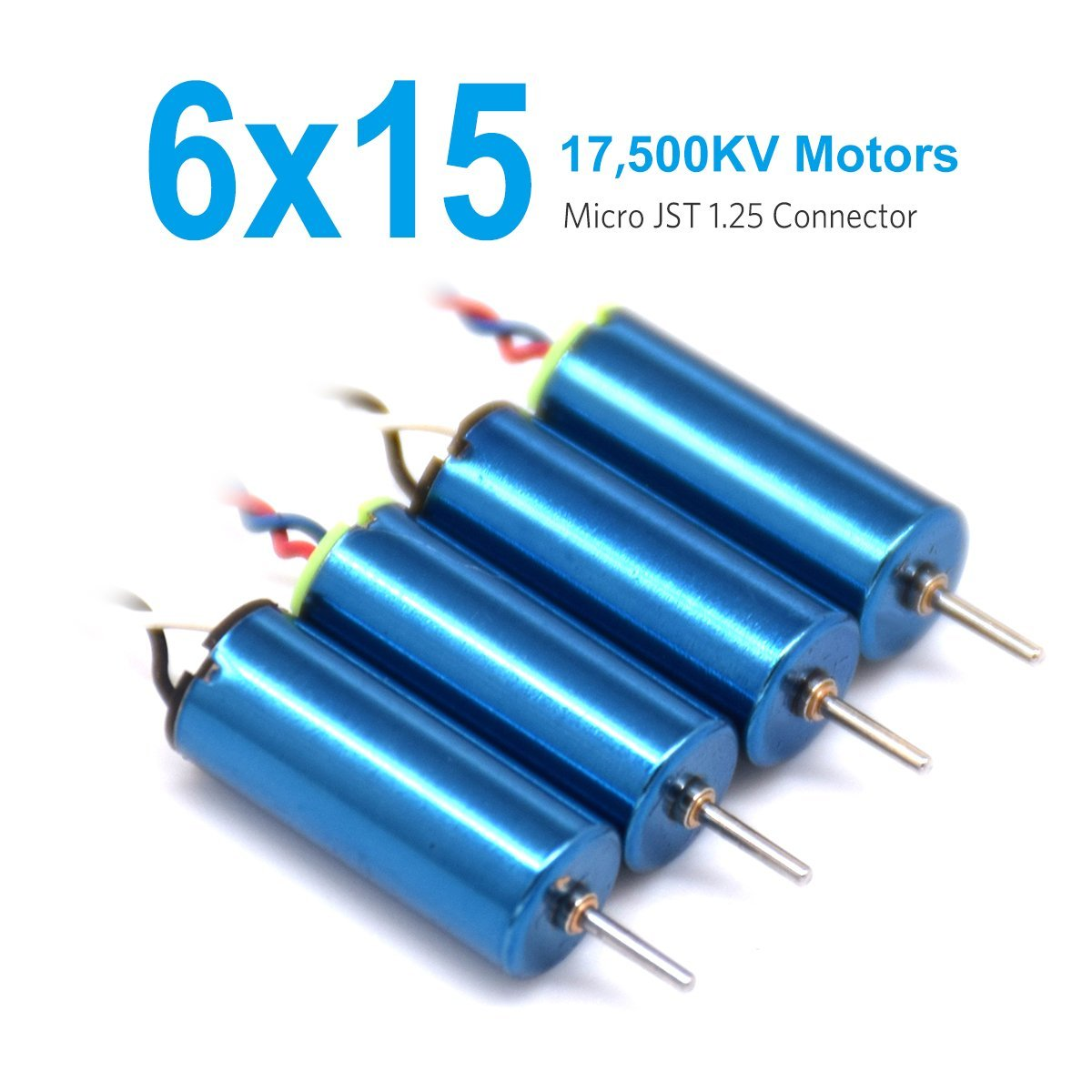 BETAFPV 4pcs of 6x15mm Motor (Speed: Faster) 17500KV TW Sauce Edition Blue with Micro JST 1.25 Plug touchstone teacher s edition 4 with audio cd