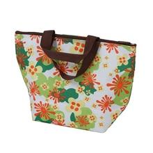 Коробки для обедов Tote bag-кулер сумка, зеленый