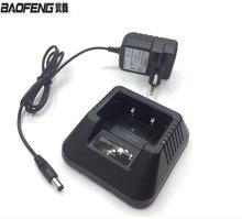 Зарядное устройство для дома Baofeng для ЕС, США, аккумуляторная батарея, базовая док-станция, зарядный адаптер для UV 5R, 5RA, радио, портативная ра...