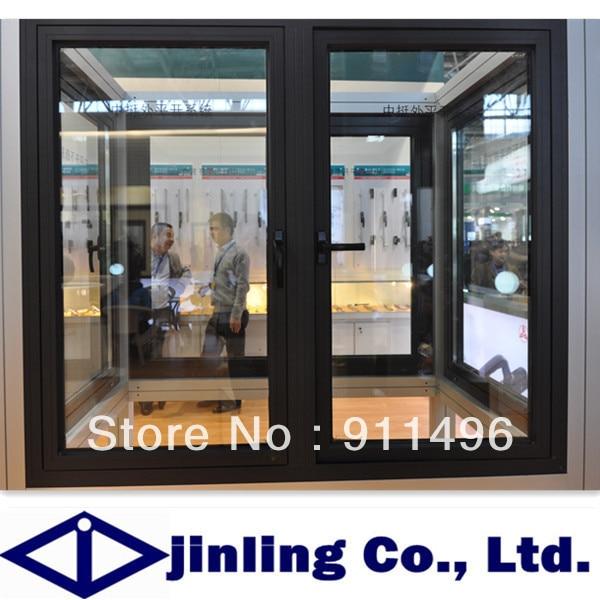 Double pane aluminum window aluminum casement window for Window design group