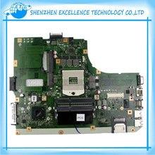 K55VM Mère D'ordinateur Portable pour Asus Intel Carte Mère S989 HM76 K55VM Carte Mère REV2.2 Soutien GT635 60NM00A0-MB2000 100% testé