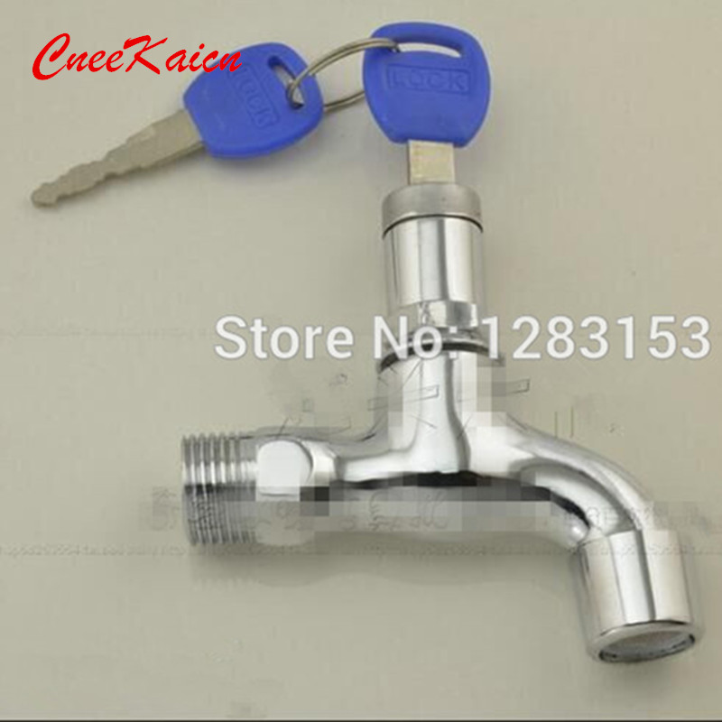 free shipping garden water taps outdoor toilet key security lock ...