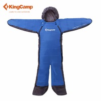 KingCamp 180 190 lazy bag tourist sleeping bag adult camping equipment Length Outdoor travel Warm and freedom Large size