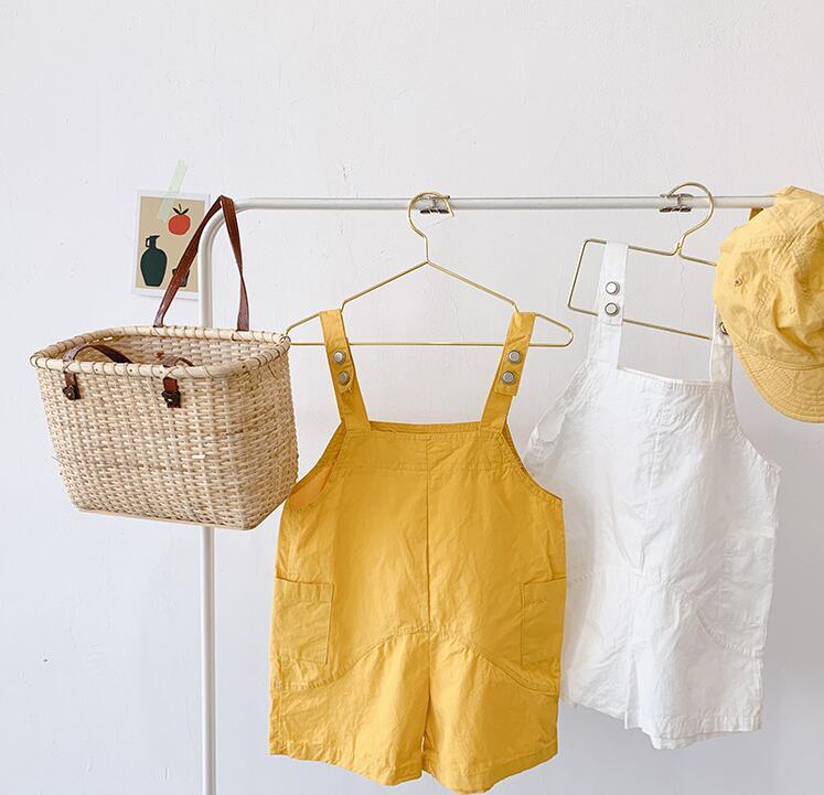 Jungen Kleidung 2019 Neue Mädchen Jungen Overalls Sommer Baumwolle Mode Kinder Shorts 1-7 Jahre Hy262 Hitze Und Durst Lindern. Overalls
