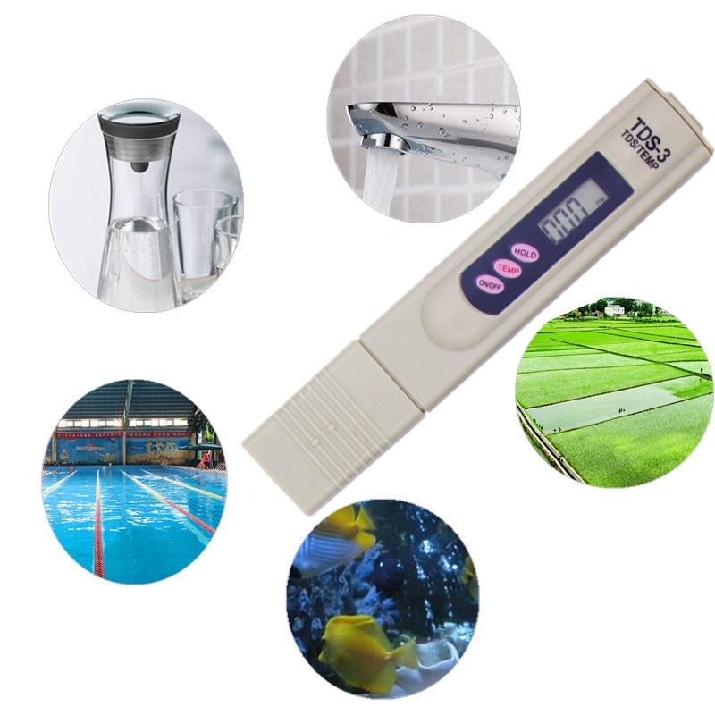 Skaitmeninis TDS matuoklio testeris Vandens kokybės tyrimui testerio - Matavimo prietaisai - Nuotrauka 6