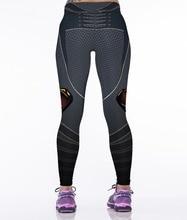 NEW 88012 Sexy Girl Women Comics Superhero Superman Chain Batman 3D Prints High Waist Workout Fitness Leggings Pants