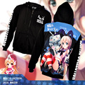New Winter Jackets and Coats Kantai Collection  Hoodies Anime shimakaze Hooded Zipper Men Casual Sweatshirts