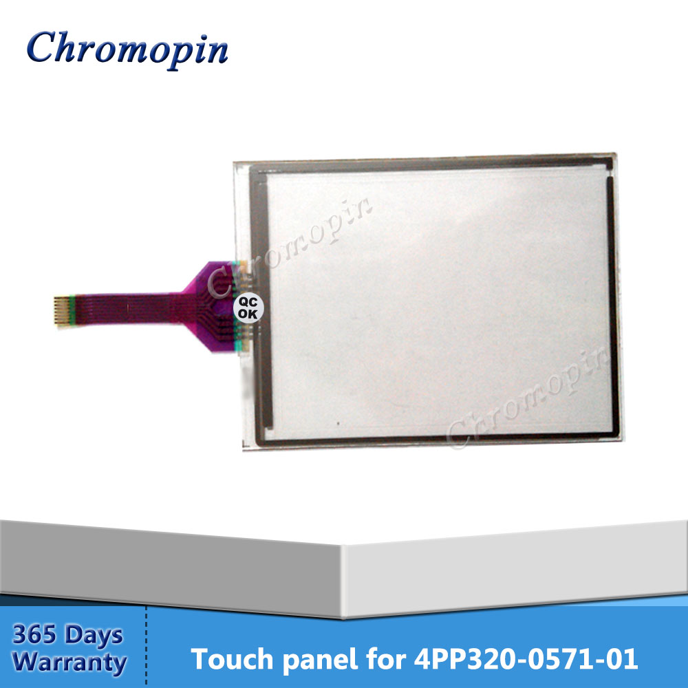 Touch panel for B&R Power Panel 300 4PP320-0571-01 4PP320.0571-01 4PP320.0571.01 Touch Screen Glass Repair compatible 4pp320 0653 k01 touch panel