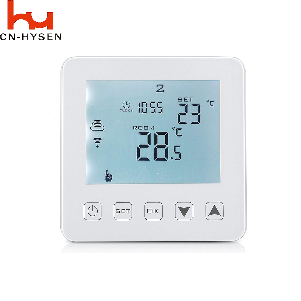Hysen Work with Amazon Echo Alexa WIFI Gas Boiler Thermostat AC100 ...