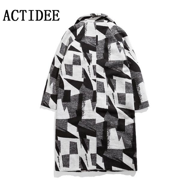 2016 2017 nueva primavera otoño de moda de alta calidad abrigo a cuadros masculino larga trinchera abrigos hombres hombres chaqueta de invierno