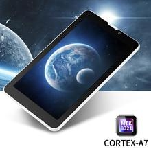 "7 ""E706 Yuntab GPS Doble Tarjeta SIM Mini 1.3 GHz Quad núcleo Cortex A7 IPS de Doble Cámara de 1 GB + 8 GB Del Teléfono Tableta de la Llamada PC"