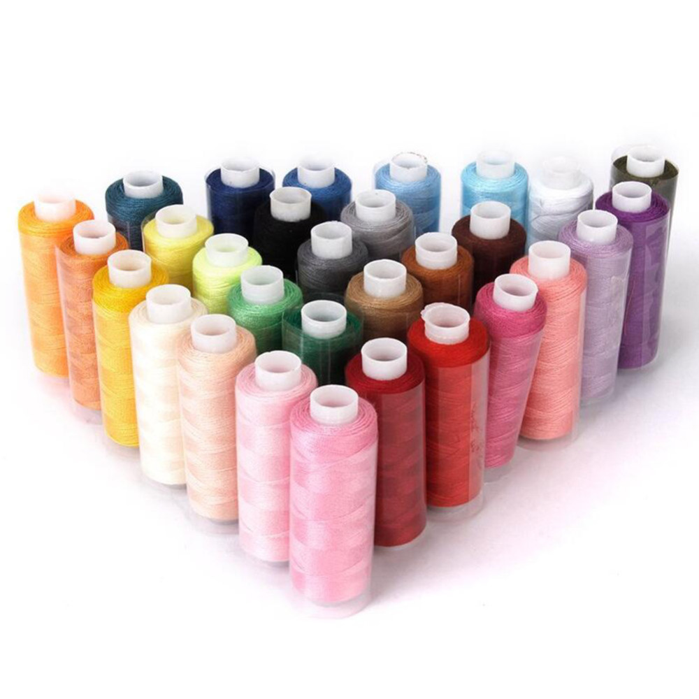Pcs high quality polyester sewing threads colorful
