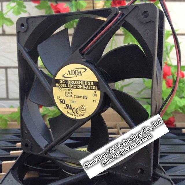 ADDA 12025 12 cm chasis ventilador 12 v 0.37A AD1212HB-A71GL nueva original